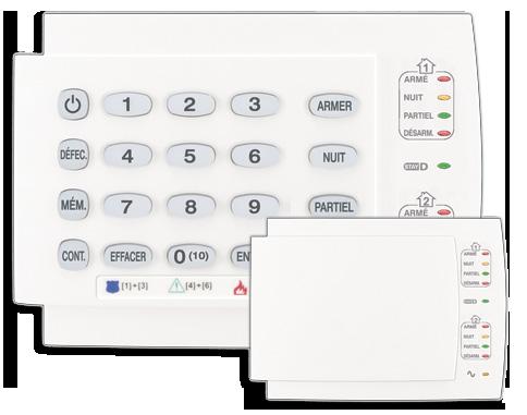 clavier panneau K10H