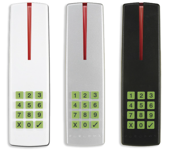 R915 lecteur et clavier de proximit 4 fils scell for Lecteur biometrique exterieur