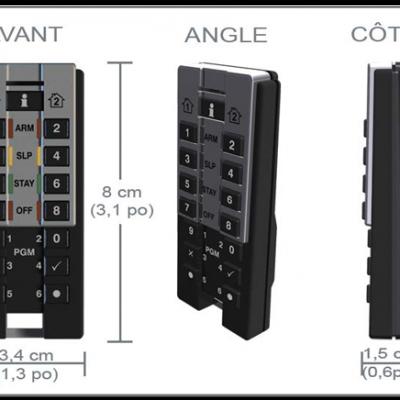 clavier portatif bidirectionnelle REM3